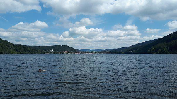 Titisee, Black Forest, Lake, Nature, Ship, Boot