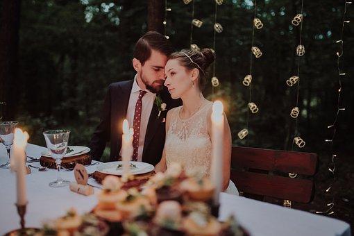 People, Arrangement, Banquet, Bridal, Bride, Brunette