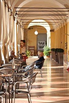 Italy, Cervia, City Centre, Dolce Vita