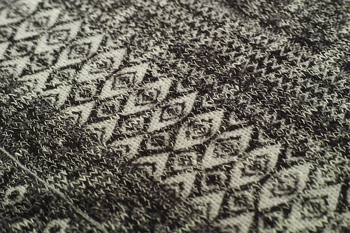 Fabric, Pattern, Textile, Clothing, Fashion, Copy Space