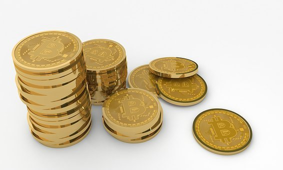 Cryptocurrency, Coins, Currency, Bitcoin, Digital Money