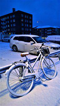 Winter, Snow, Cycle, Snow Landscape, Winter Magic, Cold