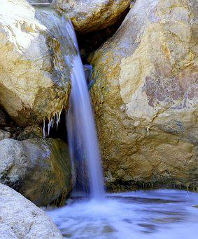 Creek, Jet, Water, Source, Clear Water, Fresh Water