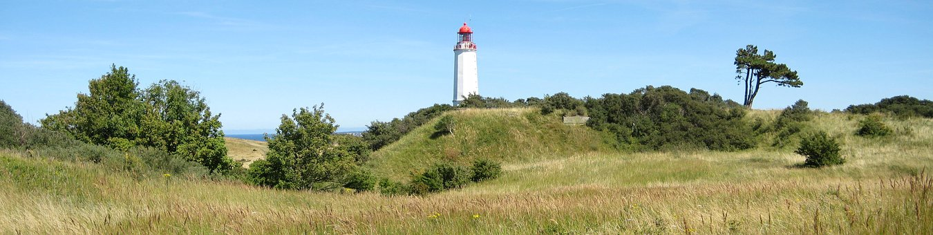 Germany, The Island Of Hiddensee, Lighthouse