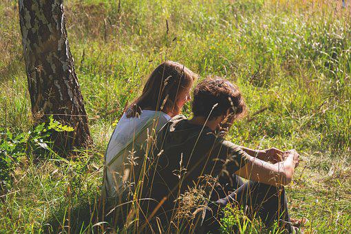 People, Boy, Chill, Couple, Date, Girl, Grass, Green