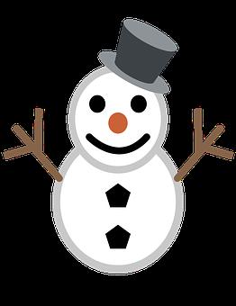 Snowman, Christmas, Winter, Happy, Snow, Ornaments