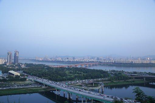 Interchanges, Eungbongsan, Summer