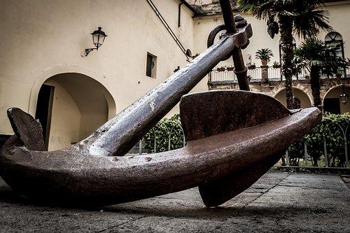 Anchor, Sea, Beach, Italy, Italian, Navigation, Summer