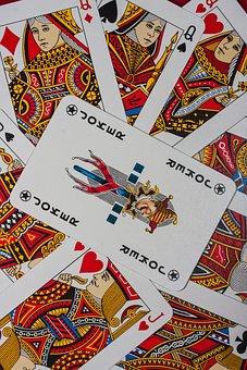 Playing Cards, Paper, Game, Joker, Gambling, Money