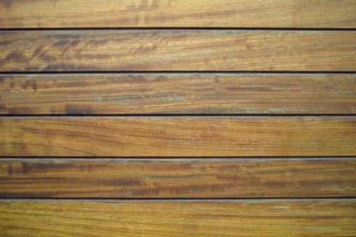 Wood-fibre Boards, Wood, Parquet, Macro, Detail, Old