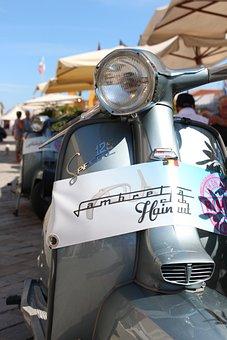 Cesenatico, Lambretta, Italy, Dolce Vita, Scooter