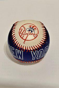 Baseball, Souvenir, Leather, Yankees, New York Yankees