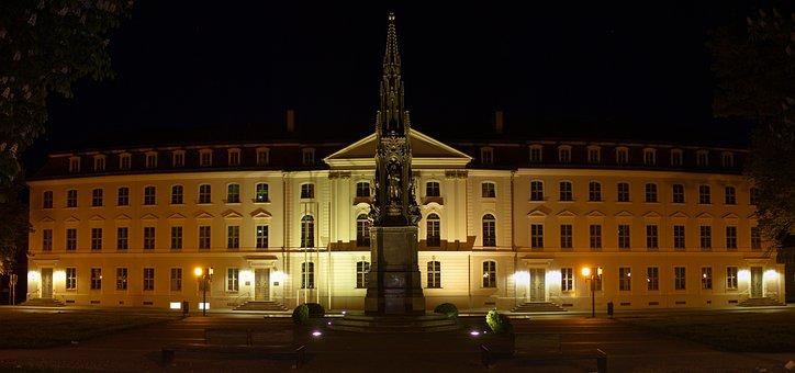 University, Greifswald, Aula, Unihauptgebäude