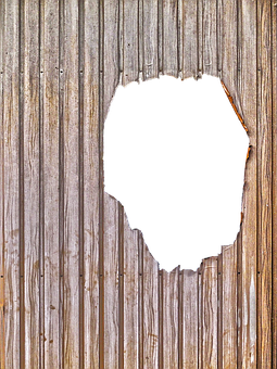Profile Sheet, Slide, Hole, Damaged, Wood Pattern