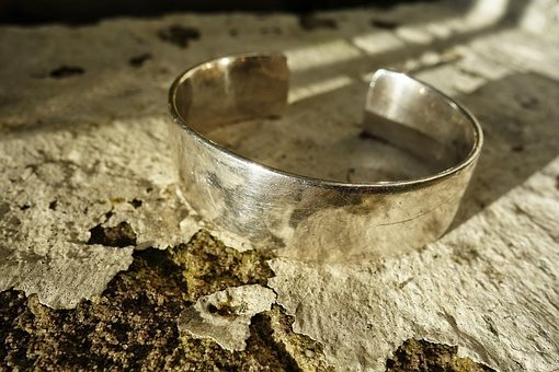 Cuff, Bracelet, Silver, Accessory, Precious, Shiny