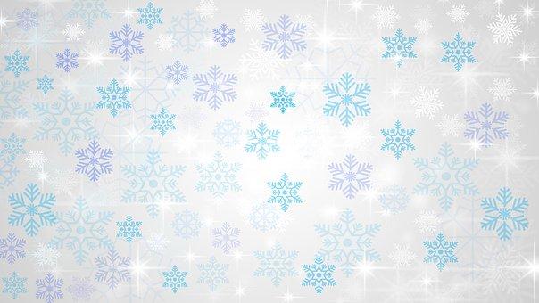Christmas, Star, Background, Backdrop, Blue, White