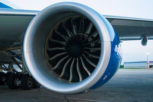 Engine, Boeing, 747, 8f Airport, Aircraft, Fly