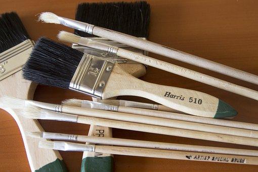 Brush, Artistic, Painter