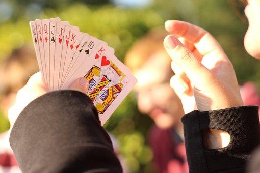 Cards, Play, Drag, Card Game, Doppelkopf, Skat, Heart