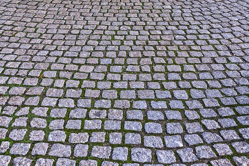 Cobblestones, Paving Stones, Patch, Paved, Background
