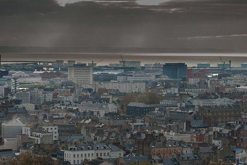 Landscape, Urban, Harbour, Urban Landscape, District