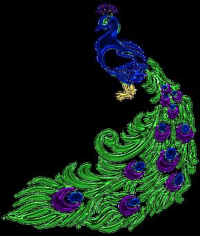 Jewel, Peacock, Jewelry, Feather, Crystal, Gem