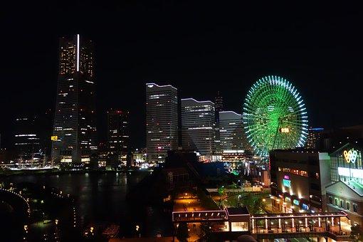Yokohama, Ferris Wheel, Minato Mirai, Minatomirai