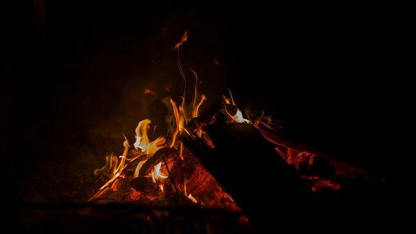 Fire, Flame, Mood, Charcoal, Burn, Hot, Heat, Brand