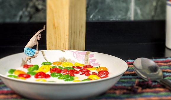 Surrealism, Fun, Game, Food, Children, Children's Games