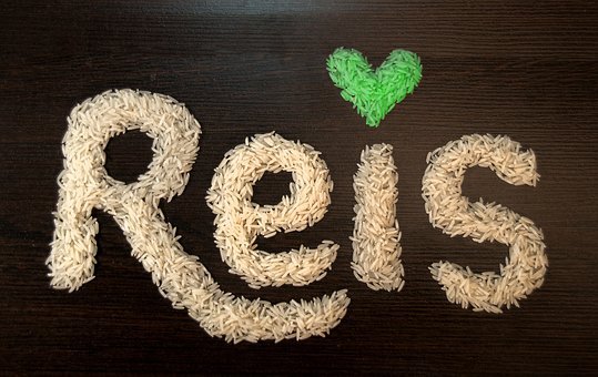 Rice, Heart, Green, Eat, Cook, Grain, Love, Stomach
