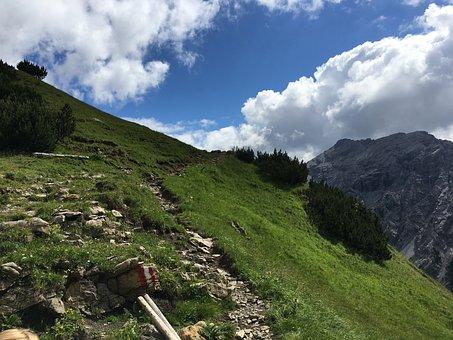 Mountains, Hiking, Holidays, Holiday, Landscape, Alpine