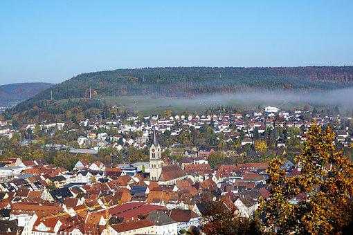Autumn, Hike, Tuttlingen, Honing Mountain