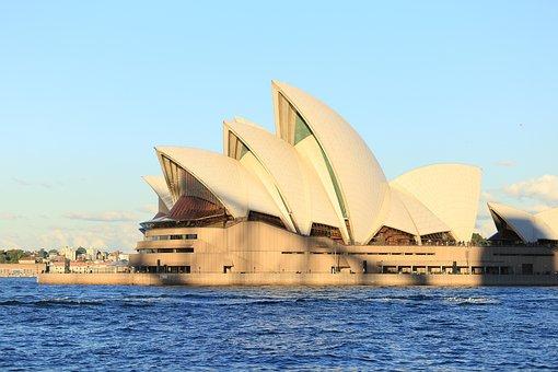 Opera House, Sydney, Australia, Landmark, Opera