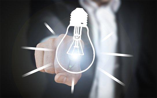 Turn On, Turn Off, Innovation, Lamp, Pear, Progress