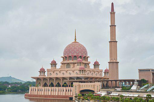 Malaysia, Cami, Pink, River, Landscape, Prayer