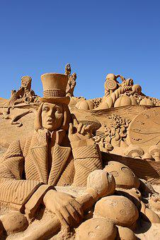 Sand, Sand Sculpture, Artwork