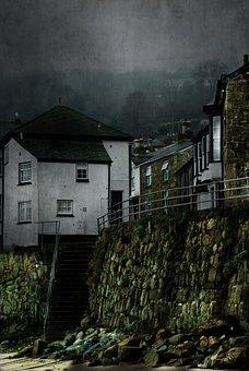 Mousehole, Cornwall, Harbour, Sea, Coast, Village