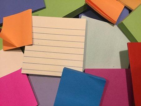 Sticky Notes, Organization, Sticky, Office, Post, Blank