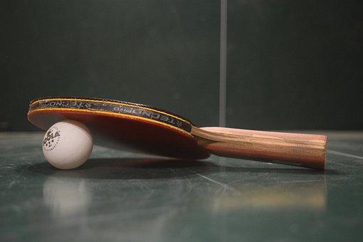 Table Tennis, Ping-pong, Table Tennis Bat, Sport, Bat