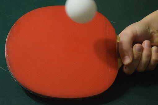 Table Tennis Bat, Table Tennis, Ping-pong, Sport, Bat
