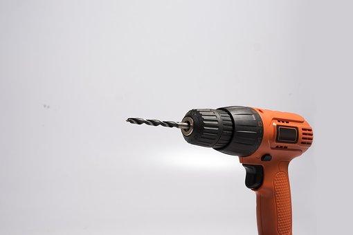 Drill, Proper, Tools, Screw, Joiner, Hammer