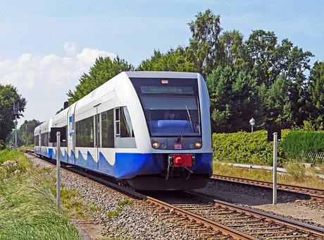Usedomer Bäderbahn, Double Unit, Diesel Railcar