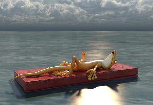 Summer, Sea, Water, Sunshine, Relax, Feel Good, Cozy
