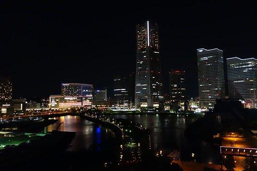 Yokohama, Minato Mirai, Night View