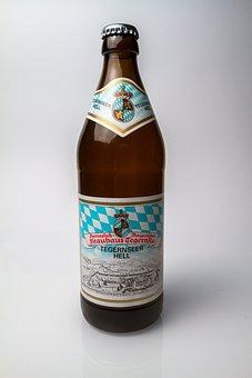 Beer, Studio, Tergernsee, White, Bright, Bottle