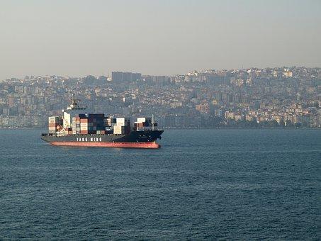Tanker, Boat, Ocean, Cargo, Ship, Industry, Business