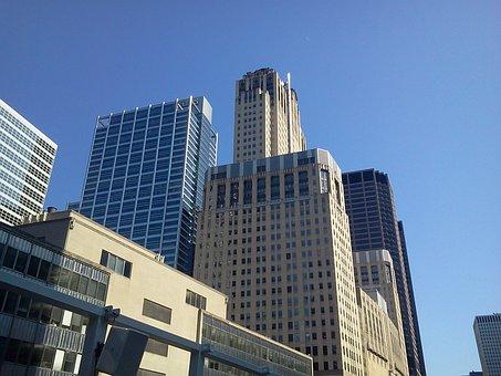 Chicago, Skyscraper, Buildings, City, Downtown