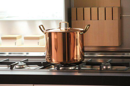 Pot, Copper, Cook, Kitchen, Tradition, Pots, Brass