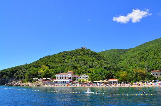 Beach, Riviera, Croatia, Holiday, Sea, Summer