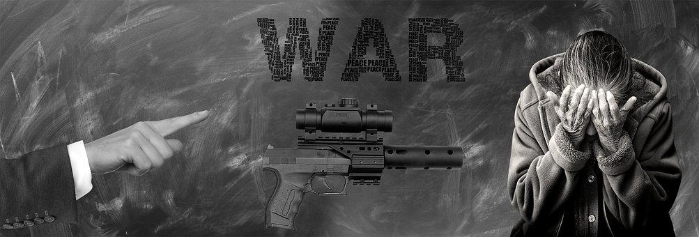 Note, Weapon, War, Death, Despair, Pistol, Symbol